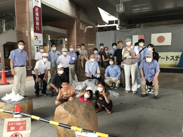 さいたま新都心駅東口商店会 清掃ボランティア